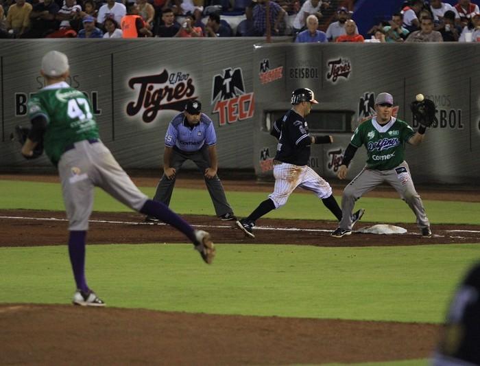 Beisbol, LMB: Delfines gana con squeeze play y amarra serie en Cancún