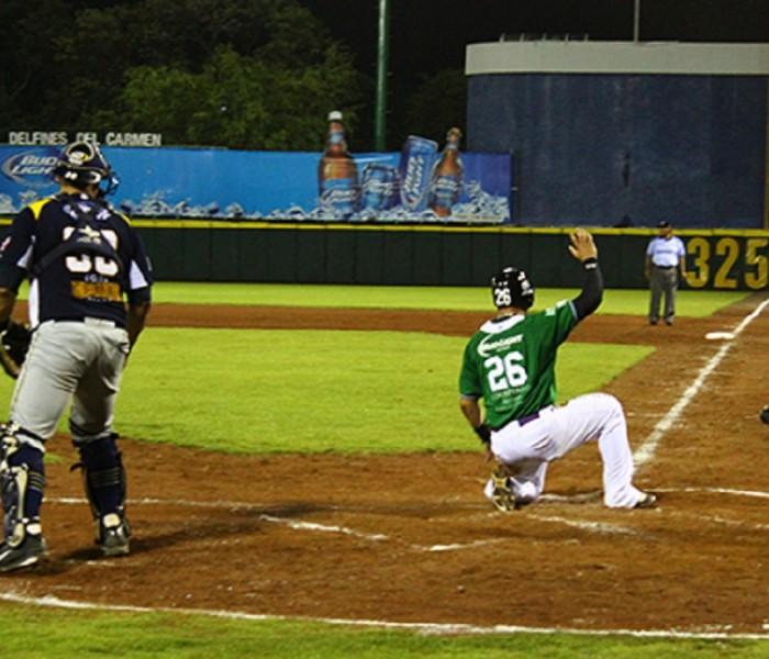 Beisbol, LMB: Rieleros y Delfines dividen en la doble cartelera.