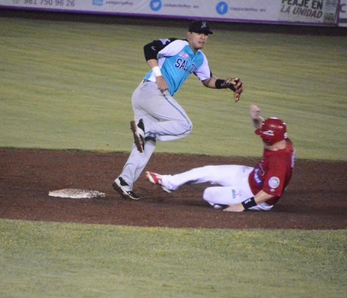 Beisbol, LMB: Saraperos ganan el último de la serie en Campeche.