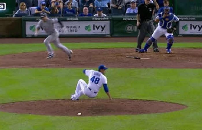 Beisbol, MLB: Los Yankees derrotan a Reales y Soria en extra innings