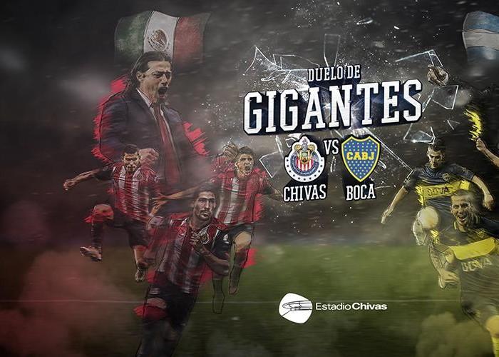 Futbol: Esto costará presenciar el Chivas-Boca Juniors