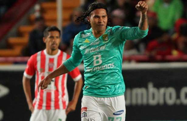 Futbol: Gullit Peña le da el triunfo a León sobre Necaxa