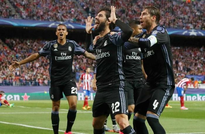 Fútbol: Real Madrid obtuvo su lugar en Cardiff, buscará el bicampeonato en Champions