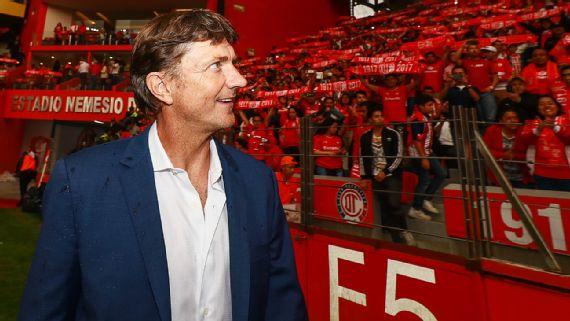 Fútbol: Cristante piensa que Toluca puede ganar en Guadalajara