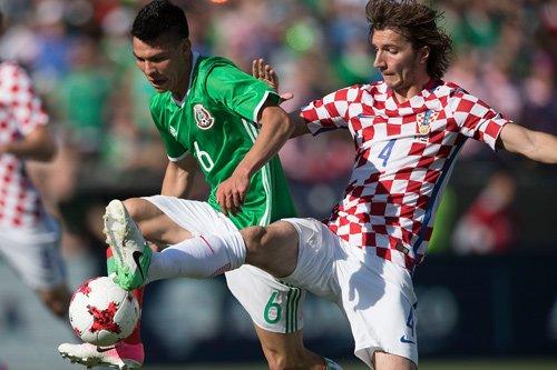 Fútbol: Croacia tendrá varias ausencias para enfrentar a México