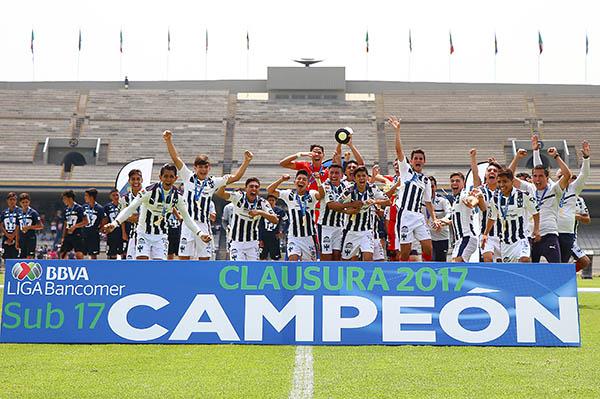Fútbol: Monterrey sorprende coronándose en Sub 17