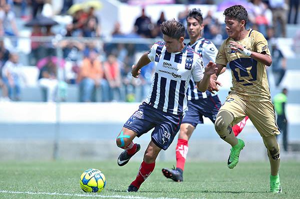 Fútbol: Monterrey obtuvo ventaja en final de la Liga MX Sub 17