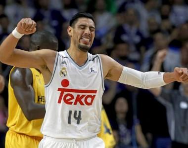 BALONCESTO: Mexicano Ayón y Real Madrid son terceros en Euroliga de Baloncesto