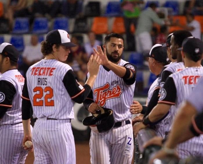 Beisbol, LMB: Gran triunfo de Tigres en el primer juego contra Leones de Yucatán.