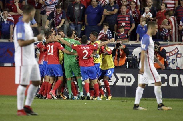 Fútbol: Costa Rica saca los 3 puntos de visita en Estados Unidos