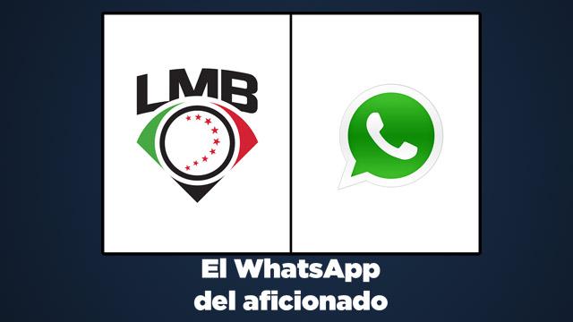 Beisbol, LMB: La LMB más cerca del aficionado con WhatsApp