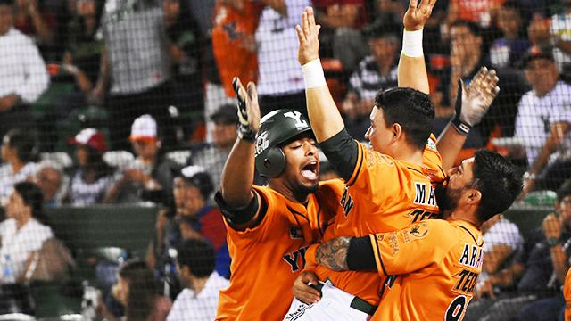 Beisbol, LMB: Yucatán se lleva la serie en explosivo juego