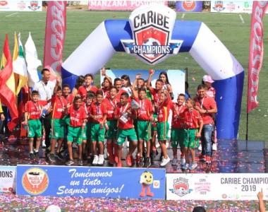 Fútbol, Copa Caribe Champions: Todo un éxito la Caribe Champions Cup Manzana Postobon 2019