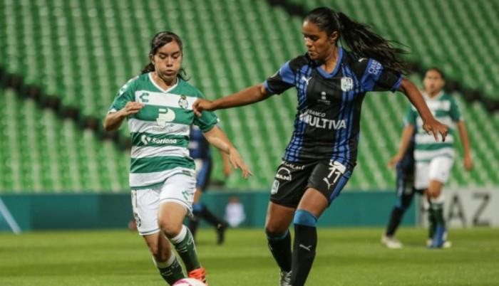 Fútbol, Liga MX Femenil: Querétaro golea 4-0 a Santos Laguna en fecha cinco de Liga MX Femenil