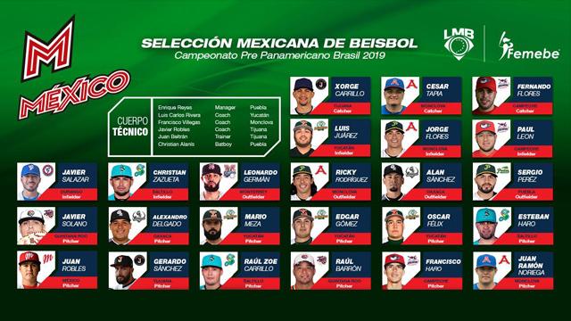 Beisbol, LMB: Convocatoria de México para el Pre Panamericano 2019