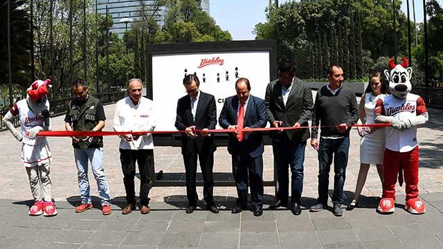 """Beisbol, LMB: Inauguraron la exposición fotográfica """"La Novena de la Ciudad"""""""