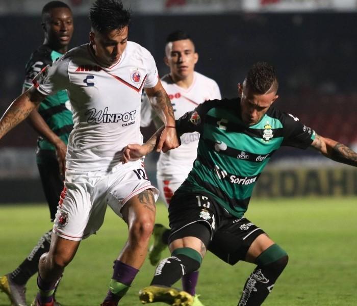 Fútbol: Santos deja escapar el triunfo ante Veracruz