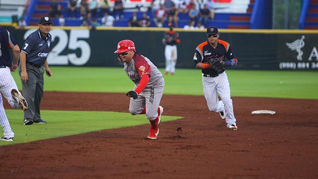 Beisbol, LMB: Serie completa para Diablos Rojos en Cancún