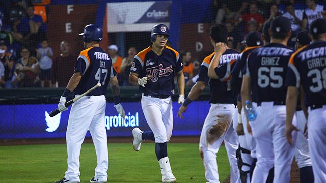 Beisbol, LMB: Tigres mostró poder a la ofensiva para quedarse con la serie