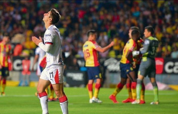 Fútbol: Boy no fue solución, Chivas perdió contra Monarcas Morelia