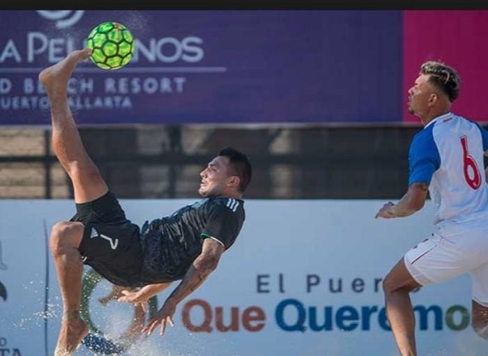 """FÚTBOL: """"Tri"""" de Playa vence 6-2 a Estados Unidos y es campeón de Pre Mundial"""