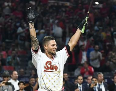 Beisbol, LMB: Danny Ortiz es el Rey del Cuadrangular