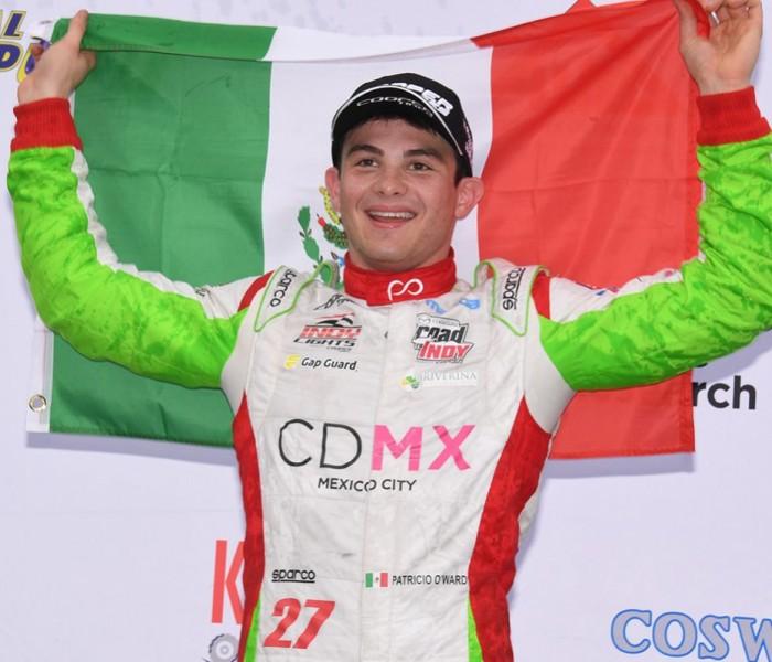 Fórmula 2, Automovilismo: Patricio O'Ward debutará en Fórmula 2