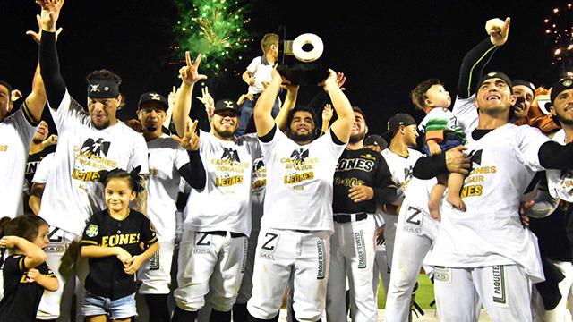 Beisbol, LMB: Los Leones se coronan en la zona sur
