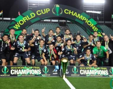 Futbol: México es campeón del mundo en futbol mini