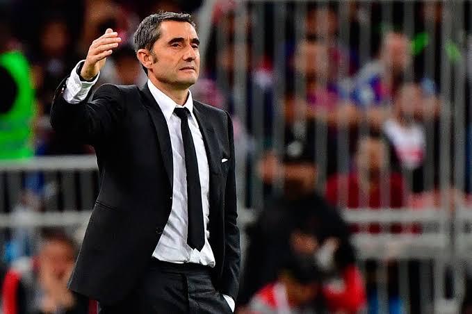 FUTBOL:Oficial, le dan las gracias a Valverde en Barcelona