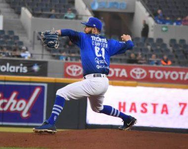 Beisbol: EL MÉXICO REFUERZA SU STAFF DE LANZADORES BRANDON CUMPTON