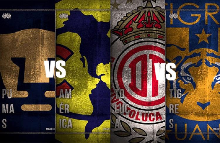 Futbol, Liga MX: Las semifinales serán jueves y domingo