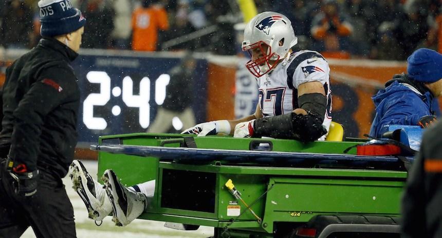Futbol Americano, NFL: Gronkowski solo susto