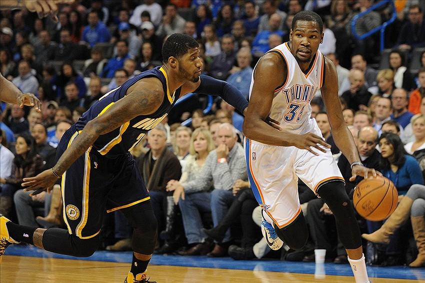 Basketball, NBA. Durant y George son los Jugadores de la Semana
