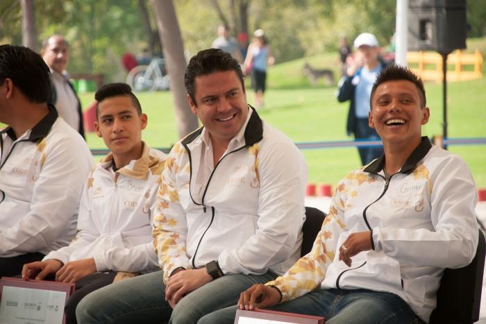 Deportes, Clavados: Jalisco entrega premio al mérito deportivo