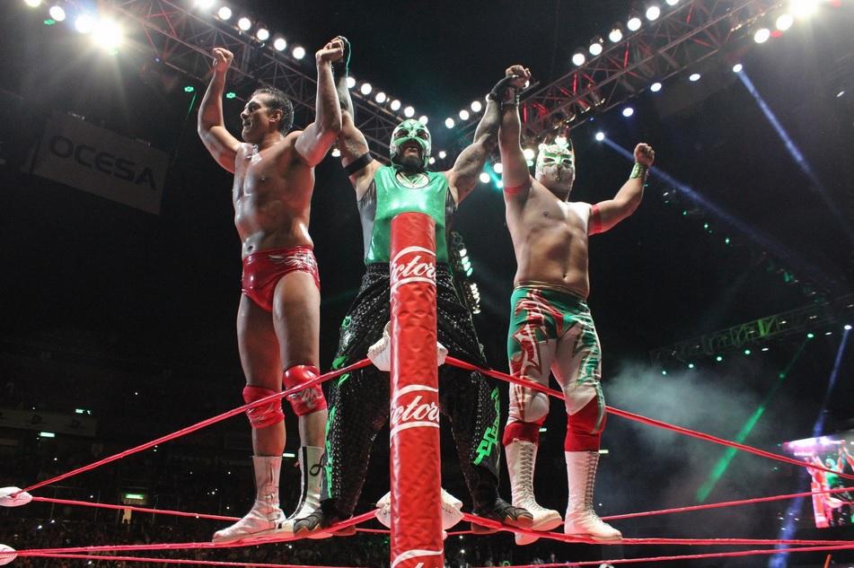 """Lucha Libre, AAA: El """"Dream Team"""" domina el Mundial"""