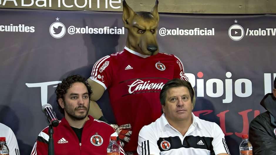 "Futbol, Liga MX: Tijuana Presenta al nuevo ""Perro mayor"""