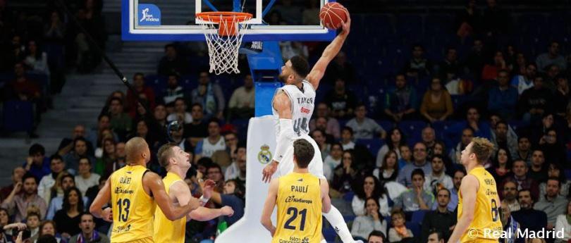Baloncesto, Liga Endesa: Real Madrid sigue en racha