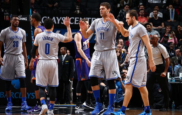 Basketball, NBA. Nets logra agónica victoria ente los Phoenix