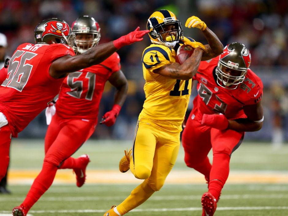 Futbol Americano, NFL: Rams se lleva victoria sobre Buccaneers