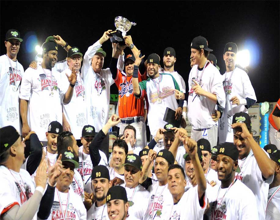 Beisbol, LMB: Tigres campeones