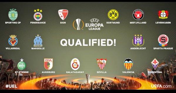 Futbol: ¿Quién avanzó a la segunda ronda de la Europa League?