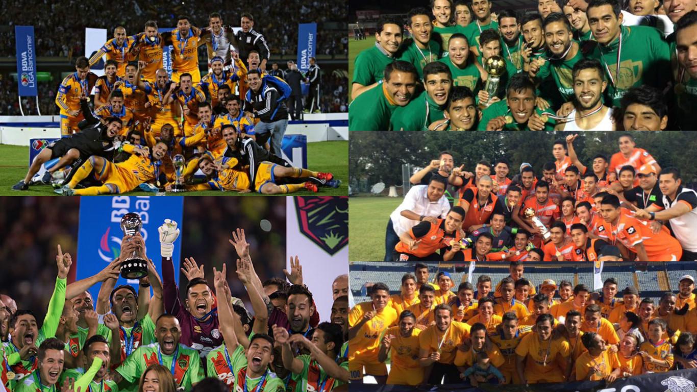 Futbol: ¿Qué equipos fueron campeones del Apertura 2015 en México?