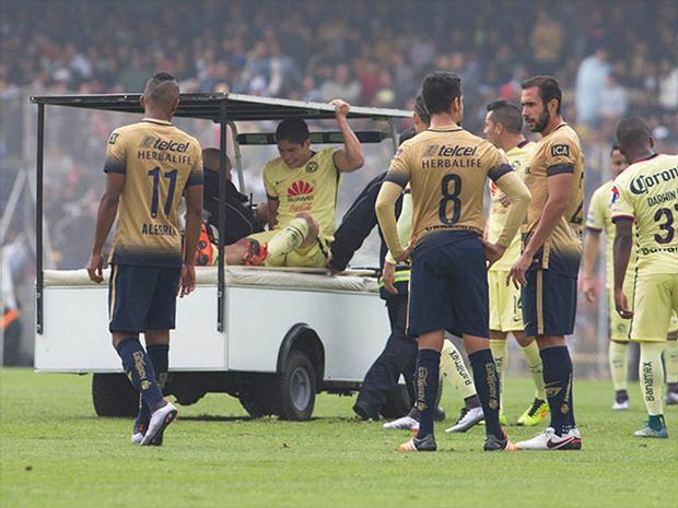 Futbol: Cortés dice que la jugada con Güemez no fue con mala intención