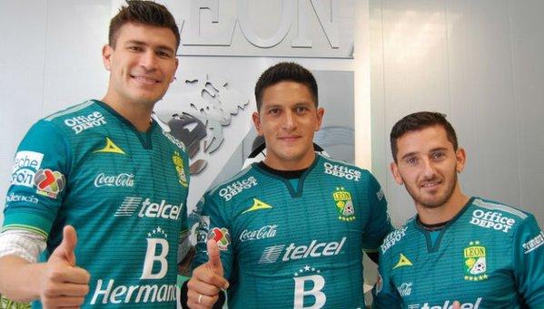 Futbol: Presentan a los refuerzos del León para el Clausura 2016