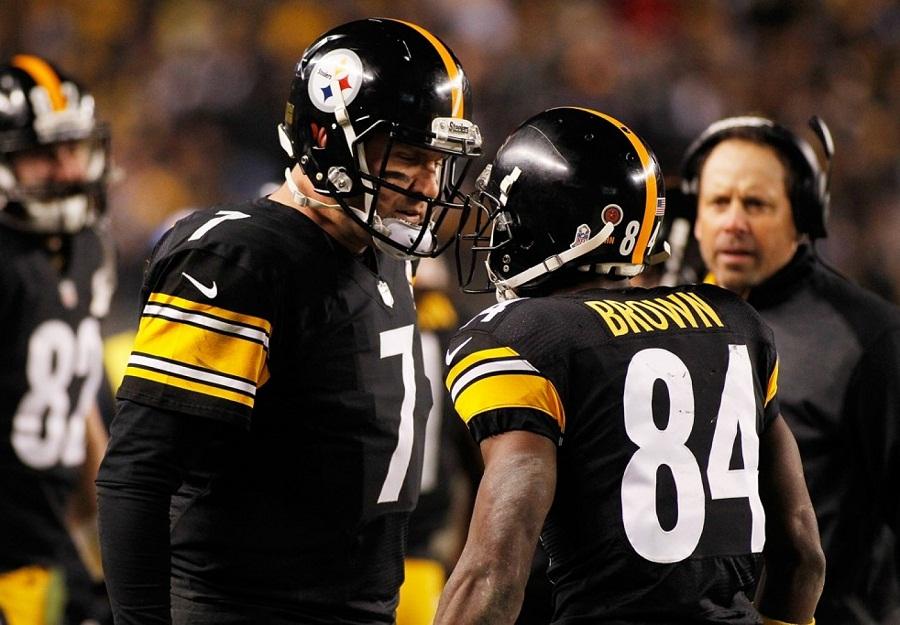 Futbol Americano, NFL: Steelers podría contar con Roethlisberger y Brown contra Broncos