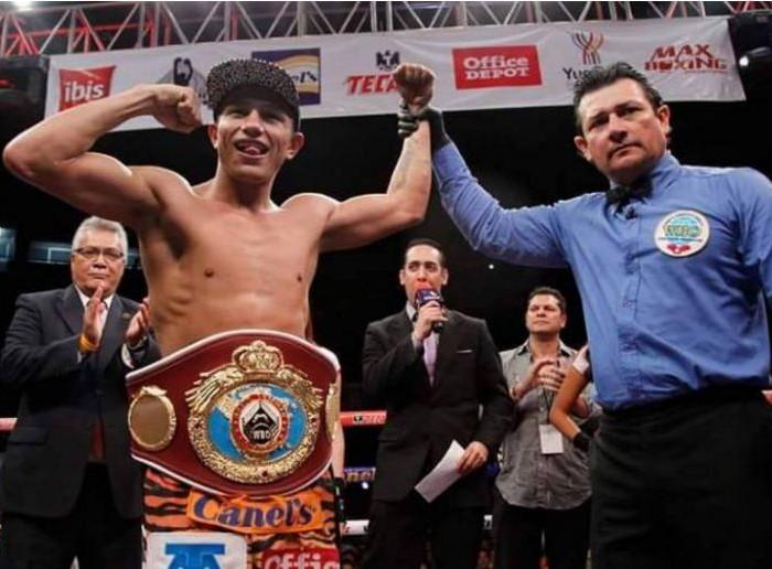 Box, OMB: Por el campeonato mundial superpluma, ¨Rocky¨ VS ¨Alacrán¨