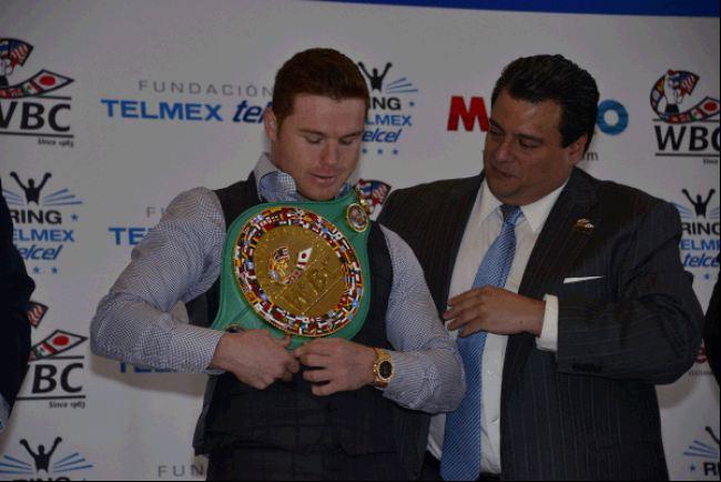 Box, WBC: WBC reconoce al ¨Canelo¨ Álvarez con el cinturón Diamante