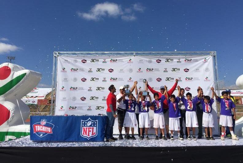 Futbol Americano, NFL: Niños queretanos representarán a México en la sede del Super Bowl