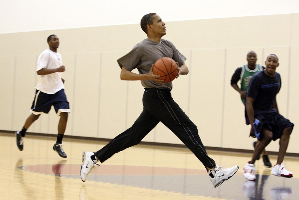 Basketball, NBA: ¿Obama celebridad de 2017?